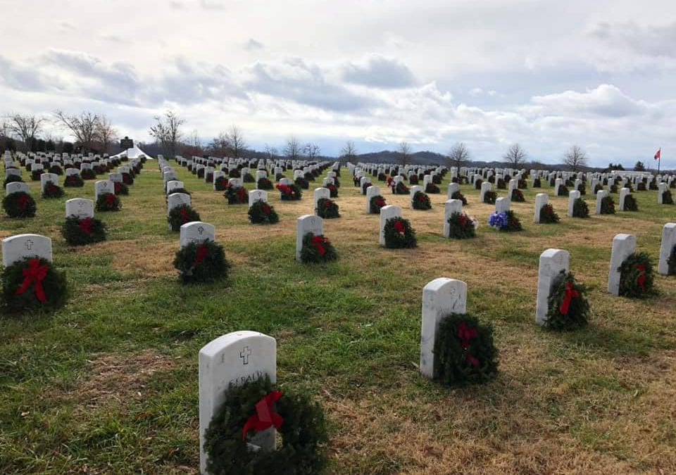 Laying of Holiday Wreaths with Wreaths Across America